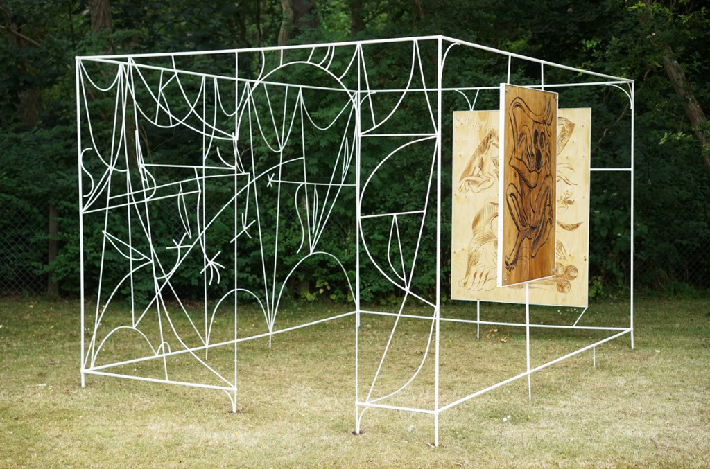 Alfred Boman, Pergola, 2014. With Work for the Pergola by Jim Thorell, 2014